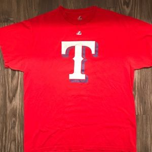 Majestic Texas Rangers T-Shirt
